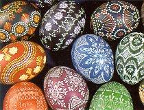 Czech & Slovak Easter kraslice