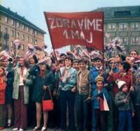 May Day in Czech Republic.