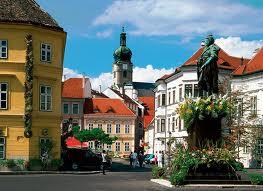 Gyor border town with Slovakia.