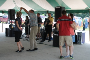 Polka dance at St. Pat's Parish Festival last Sunday.