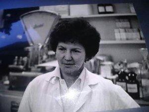 Mom Ella Konecny, the pharmacist