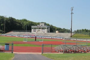Red Arrow Stadium at the Lowell High School annually hosts the Pink Arrow Pride.