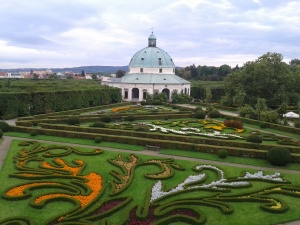 Flower Garden, part of the Archbishp's Palace complex in Kromeriz.