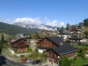 Morzine in Savoy Alps, FR.