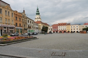 Kromeriz, UNESCO World Heritage Center.