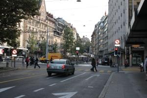 Old town Geneva.