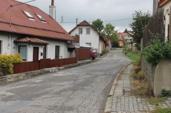 Krnovska, Vizovice where the street was the playground.