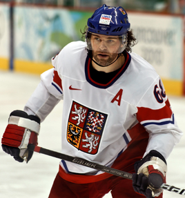 Jaromir Jagr of New Jersey Devils
