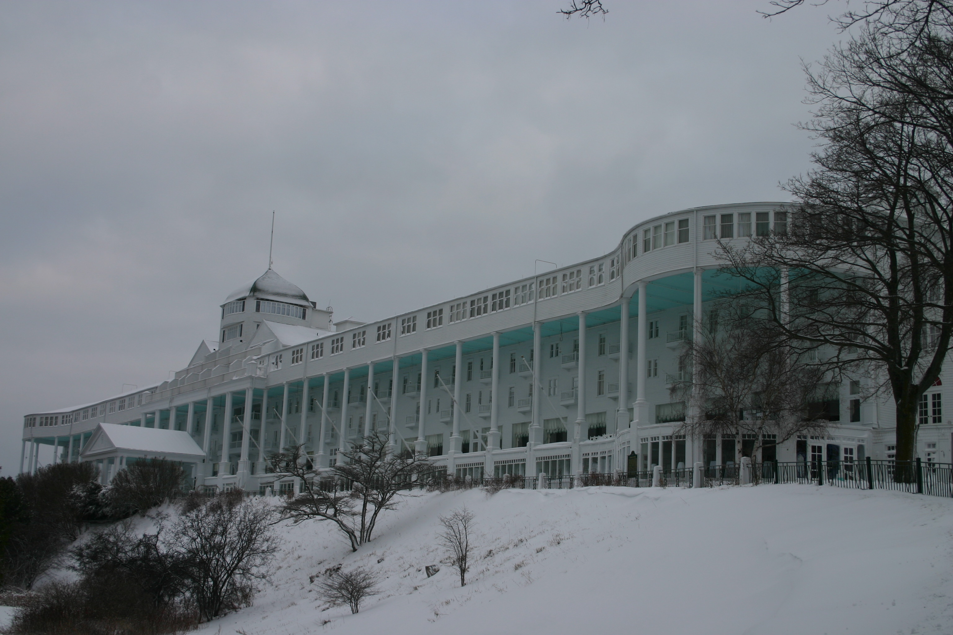 Mackinac Island Winter E Travel Amp Food