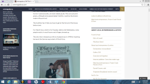 EW blog on WordPress