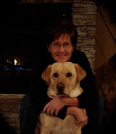 EW writer Sheryl Groen with Ruby