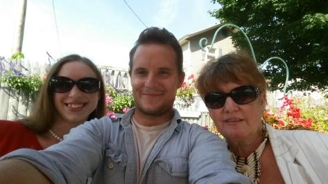 Sales Jakub Pala, writers Sarah Harmon and Emma Palova on EW team.