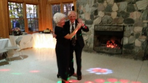 My parents Ella & Vaclav Konecny stayed the longest on the dance floor celebrating 55 years of marriage.
