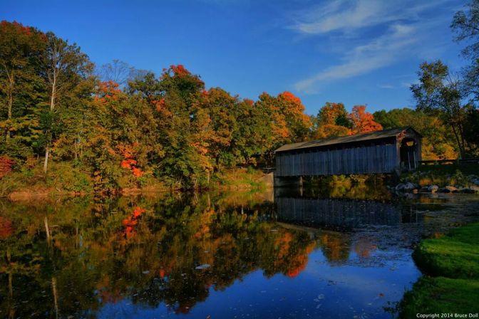 Fall in Fallasburg Park