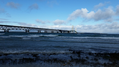 Mackinac Bridge in Michigan