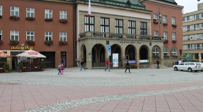 City hall Zlin.