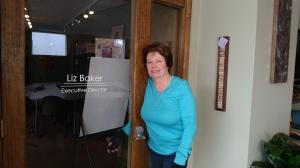 Chamber director Liz Baker.