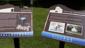 Interpretative markers in the Fallas village