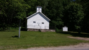 One room school house, a museum for the Fallasburg Historical Society