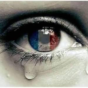 A tear for France.