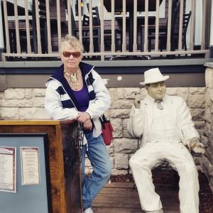 Me and Al Capone in America.