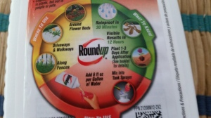 The vicious circle of Roundup by Monsanto.