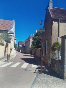 Wine villages of Burgundy.