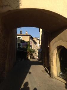 Provencal town Lourmarin