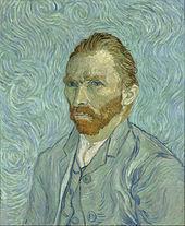Vincent van Gogh painted his self portrait in Saint Remy de Provence.