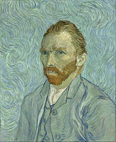 Vincent van Gogh painted his self portrait in Saint Remy de Provence.