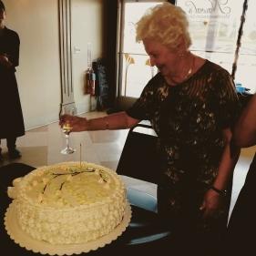 Mom Ella turns 80 in Big Rapids, MI.