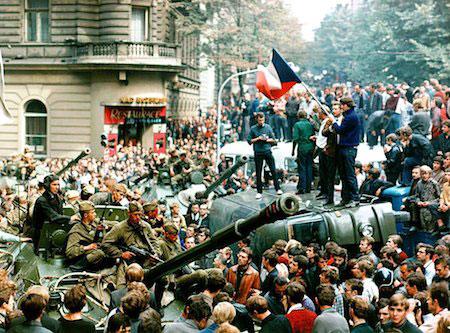 Soviet occupation of Prague in 1968
