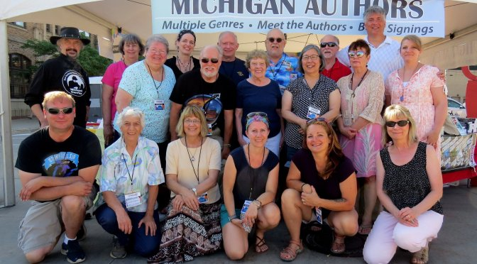 Insights from Authors' Tent at Lakeshore Art Fest